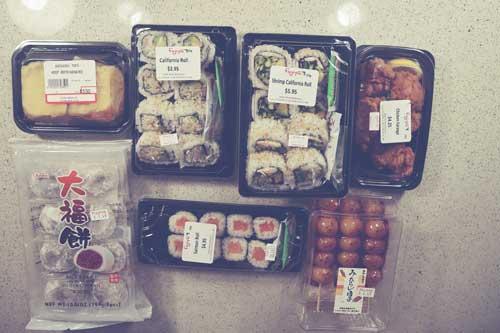 Mes achats à Fujiya, notre épicerie japonaise locale [vidéo]