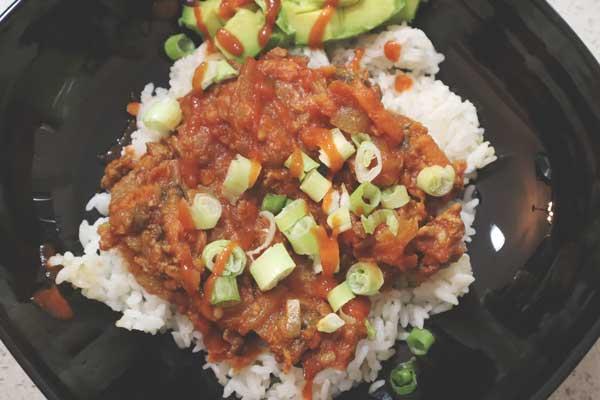 Sauce tomate à la viande et légumes {vidéo}